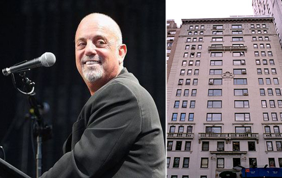 Billy Joel and 128 Central Park South