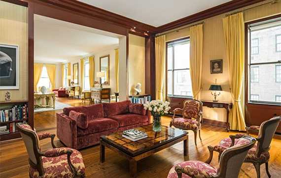 740 Park Avenue  duplex that was sold to Nathan Englander for $70 million