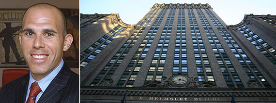 From left: Scott Rechler and the Helmsley Building
