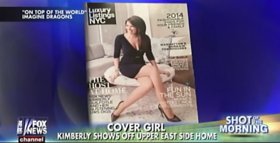 """The cover of Luxury Listings NYC on """"Fox & Friends"""""""