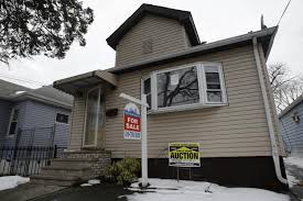 A foreclosed home in Queens
