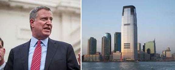 Jersey City and Bill de Blasio