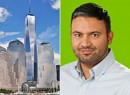 From left: One World Trade Center and Dipanshu Sharma