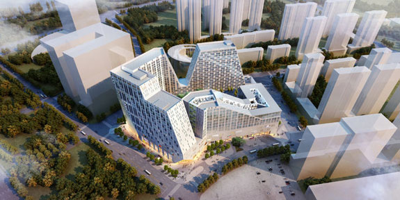 The Diamond Hill development in Shenyang, China