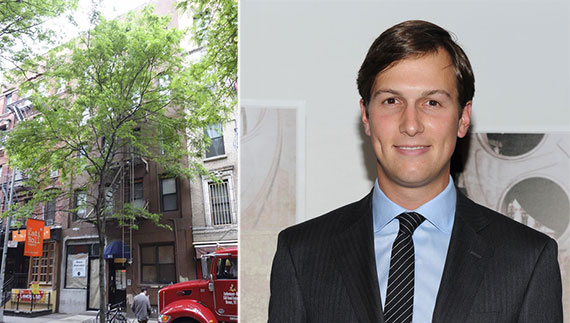 From left: 101 Macdougal Street and Jared Kushner