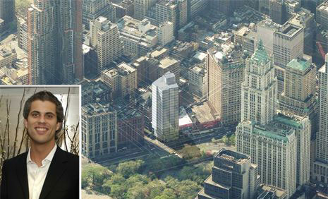 A concept of 1 Beekman Street (Credit: Pei Cobb Freed & Partners) and Glauco Lolli-Ghetti