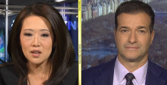 Melissa Lee and Tamir Shamesh (via CNBC)