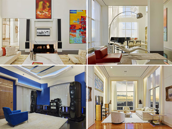 A billionaire's Midtown apartment