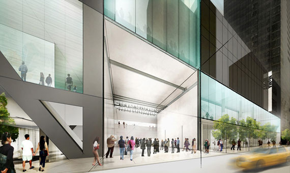 A rendering of the MoMa redesign (Credit: Diller Scofidio + Renfro)