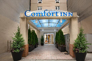 Comfort Inn Times Square South at 305 West 39th Street