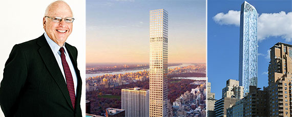 From left: Howard Lorber, 432 Park Avenue, 157 West 57th Street