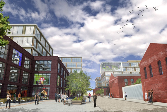 Rendering of Red Hook Innovation Studios