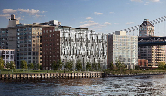 Rendering of 10 Jay Street (credit: ODA Architecture)