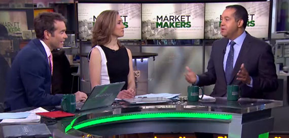 Don Peebles appeared on Bloomberg TV's Market Makers