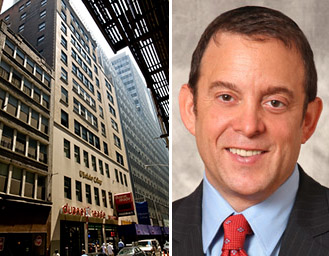 128-130 William Street in the Financial District and Lightstone's David Lichtenstein