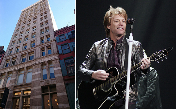 158 Mercer Street in Soho and Jon Bon Jovi