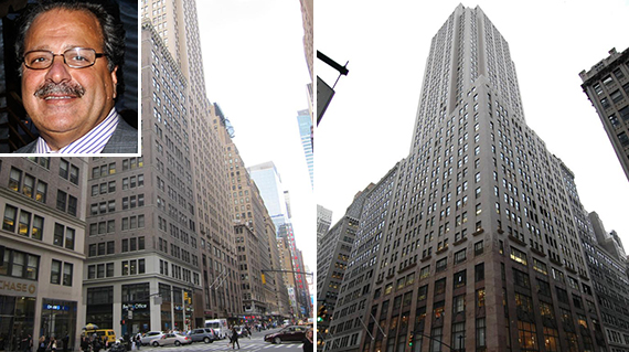 From left: 500 Seventh Avenue and 512 Seventh Avenue in Midtown