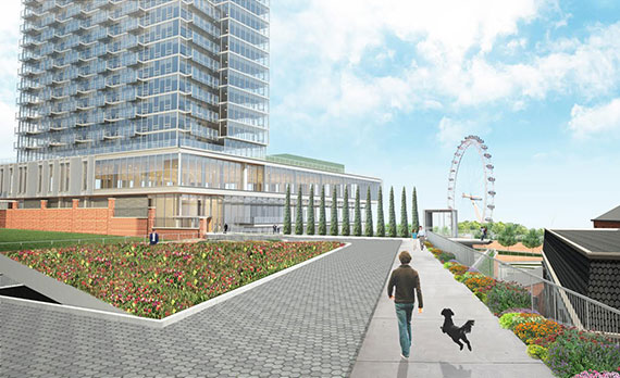 Rendering of Lighthouse Point on Staten Island (credit: Triangle Equities)