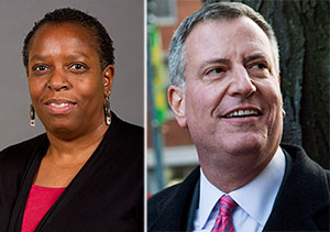 Martha Stark Bill de Blasio