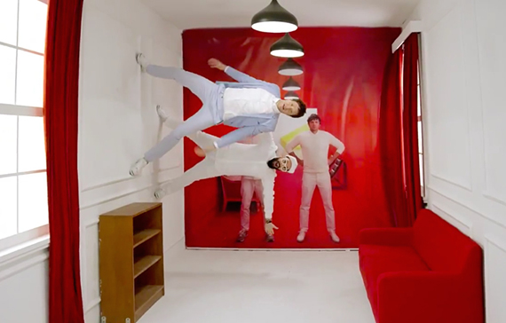 OK Go in Chinese furniture commercial