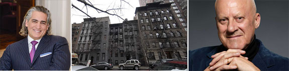 From left: Joseph Beninati, 428 East 58th Street and Norman Foster