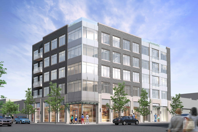 Rendering of 1060 Bedford Avenue in Bedford Stuyvesant (credit: Karl Fischer Architect)