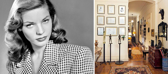 Lauren Bacall and 1 West 72nd Street on the Upper West Side