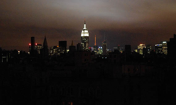 Blackout in Manhattan
