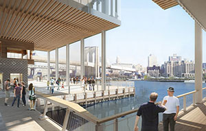 Rendering of Pier 17 (Credit: SHoP)
