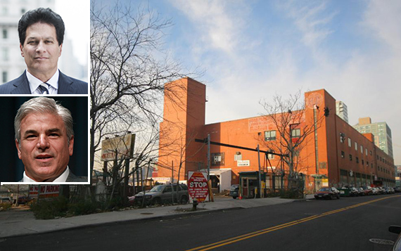 484 Kent Avenue in Williamsburg (inset: top, Ziel Feldman, bottom, Michael Fascitelli)