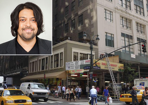 641 Seventh Avenue in Herald Square and Michael Shah