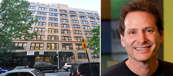 From left: 95 Morton Street in the West Village and PayPal's chief executive officer Dan Schulman