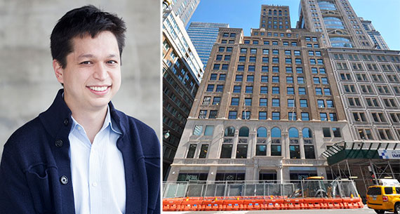 From left: Pinterest CEO Ben Silbermann and 475 Fifth Avenue
