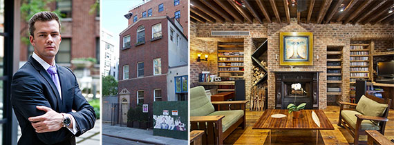 From left: Ryan Serhant and 514 Broome Street