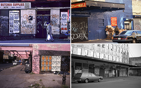 Old images of the Meatpacking District
