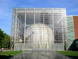 Hayden Planetarium on the Upper West Side