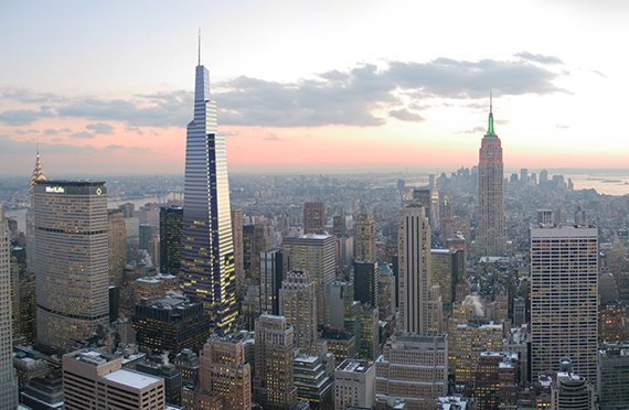 Rendering of One Vanderbilt in East Midtown (credit: KPF)