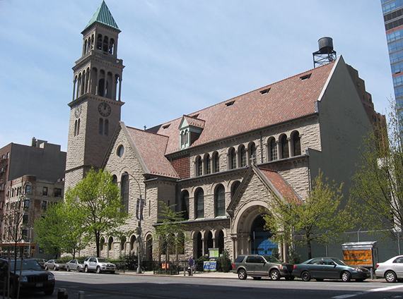 St. Michael's Church at 225 99th Street on the Upper West Side