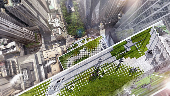 Rendering of 2 World Trade Center (Credit: Bjarke Ingels Group via Wired)