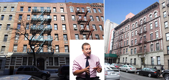 From left: 529 West 158th Street, Sharif El-Gamal and 508-512 West 158th Street