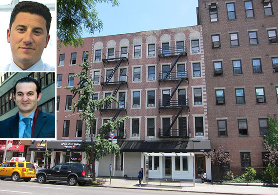 640-644 Tenth Avenue (inset: David Sjchechtman, top, and Michael Wahba, bottom)