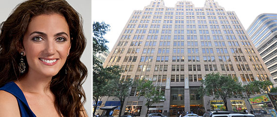 From left: Rent the Runway CEO Jennifer Hyman and 345 Hudson Street