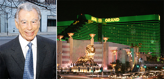 Kirk Kerkorian and the MGM Grand in Las Vegas