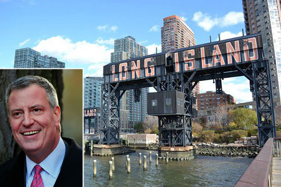 Long Island City and Bill de Blasio