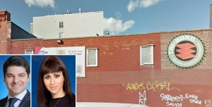 Gabriel Saffiotti and Nicole Rabinowitsch (inset) and 296 Wythe Avenue (Credit: Google)