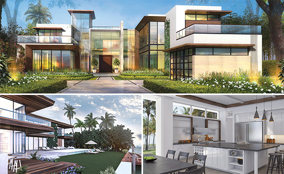 Renderings of 6440 North Bay Road in Miami Beach