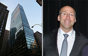 From left: 888 Seventh Avenue and Neil Goldmacher