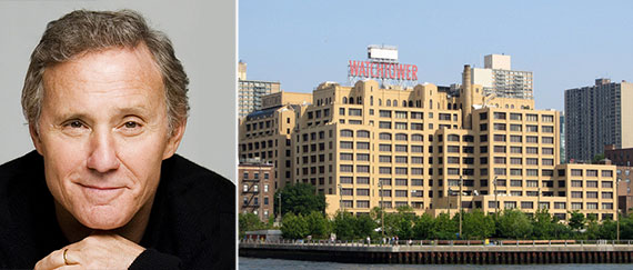 From left: Ian Schrager and the Jehova's Witness Watchtower Complex in Dumbo