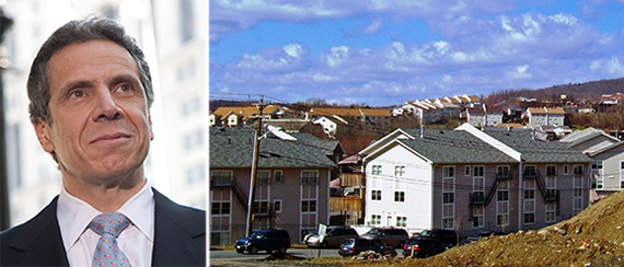 Andrew Cuomo and Kiryas Joel, New York.