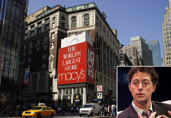 Macy's on Herald Square and Starboard's Jeff Smith